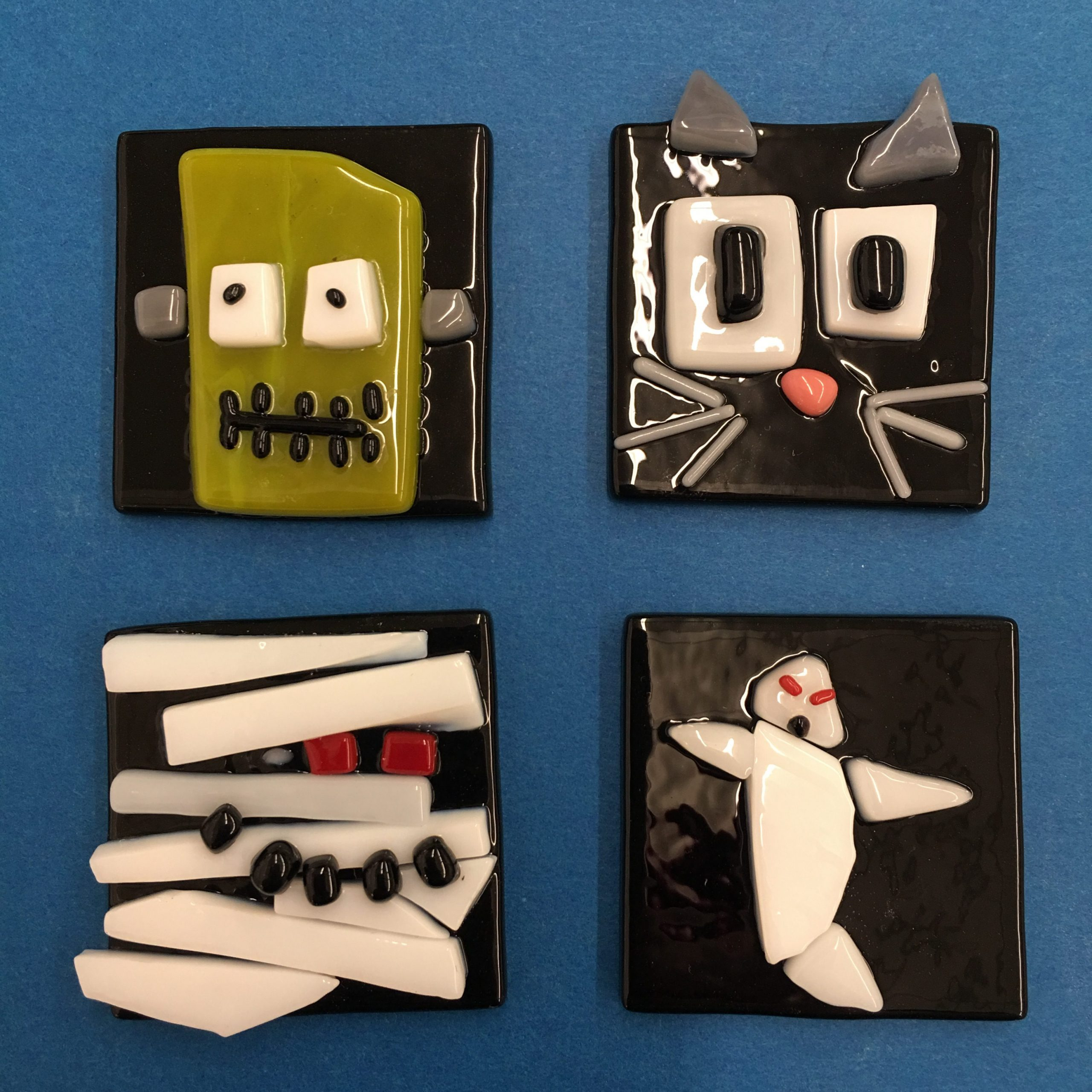 Spooky Fun Fused Glass Class for Kids and Adults!
