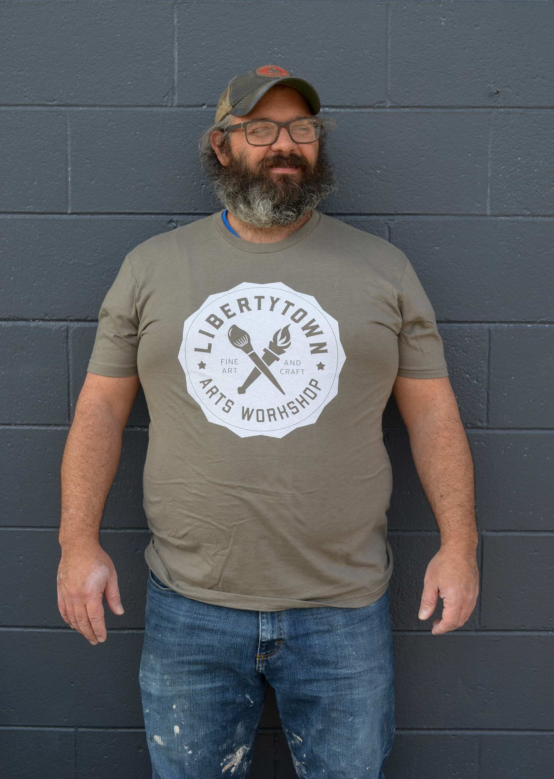 LibertyTown T-Shirts: Warm Grey