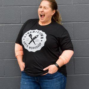 LibertyTown T-Shirts: Black