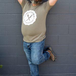 LibertyTown T-Shirts: Warm Grey