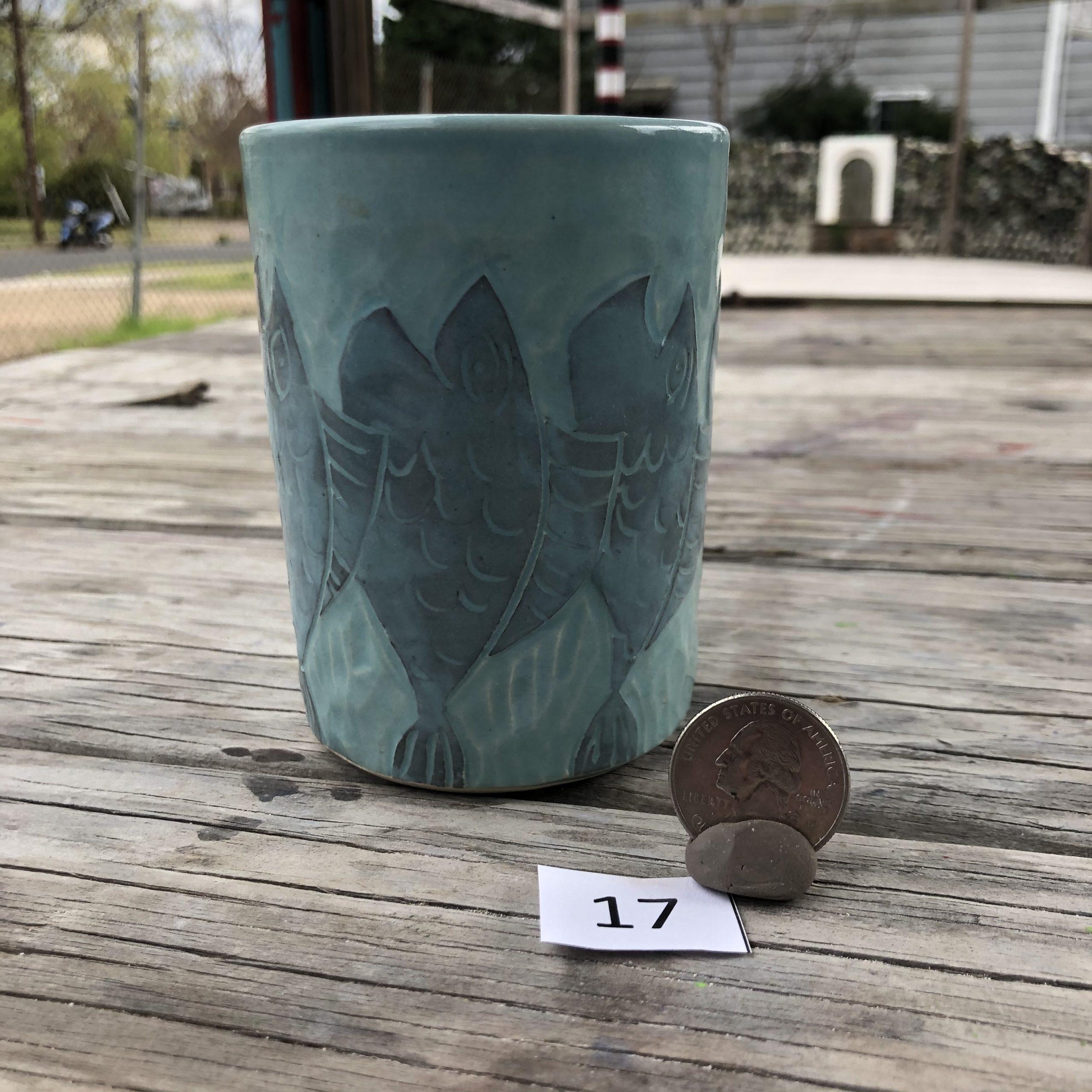 Neal Reed Stacked Fish Mug #17