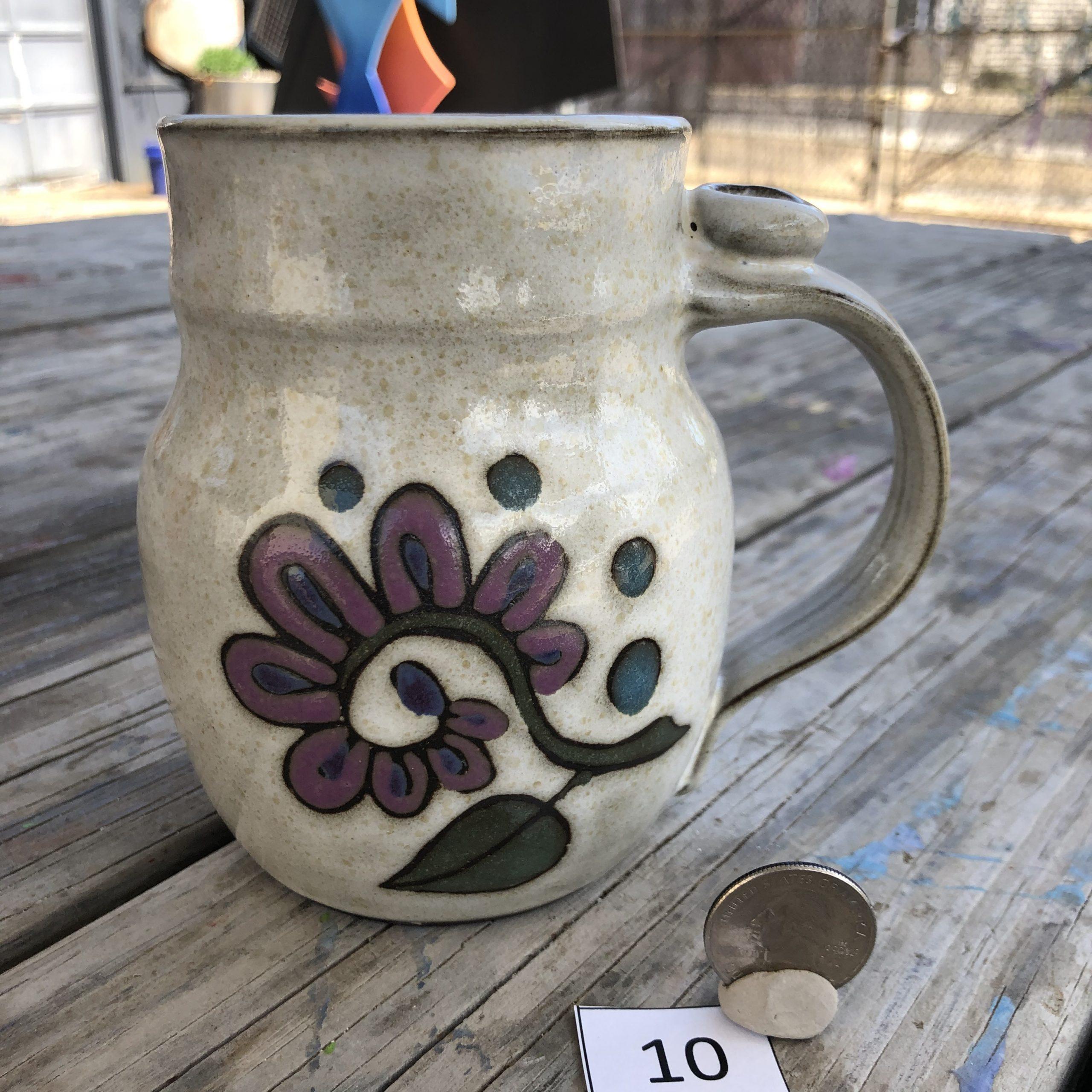 Ann Pfau Flower and Leaves Mug #10
