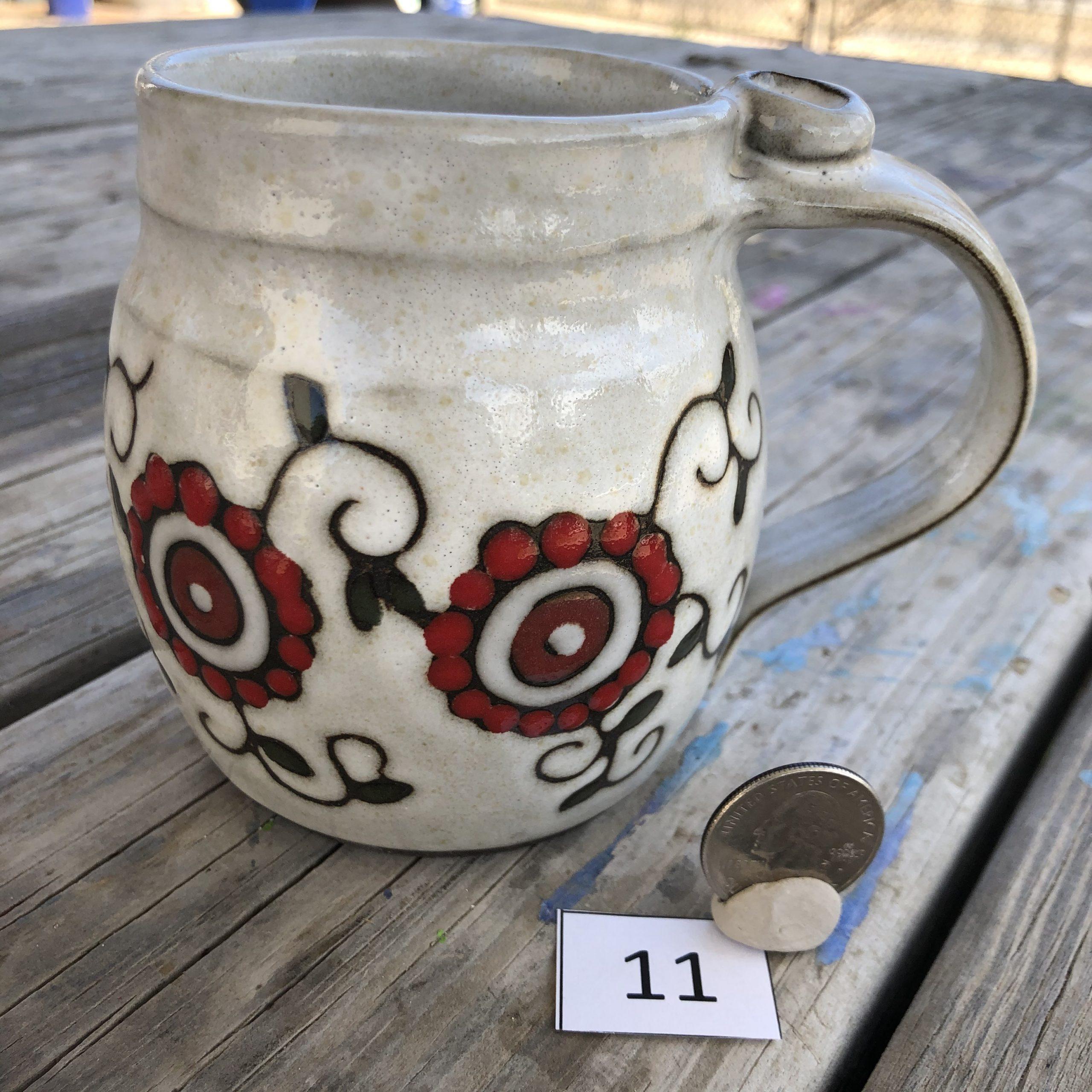 Ann Pfau Flower Vine Mug #11