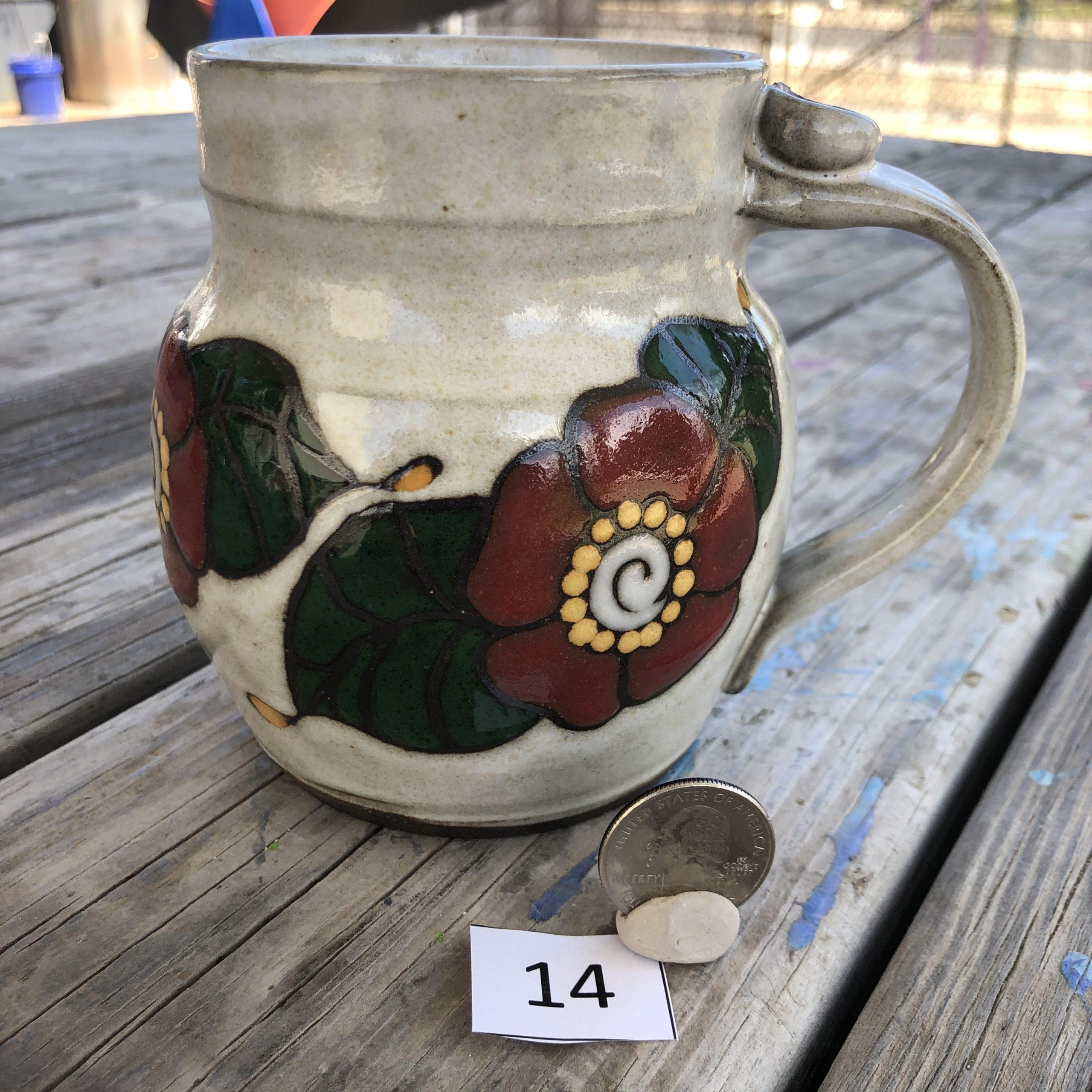 Ann Pfau Flower Mug #14