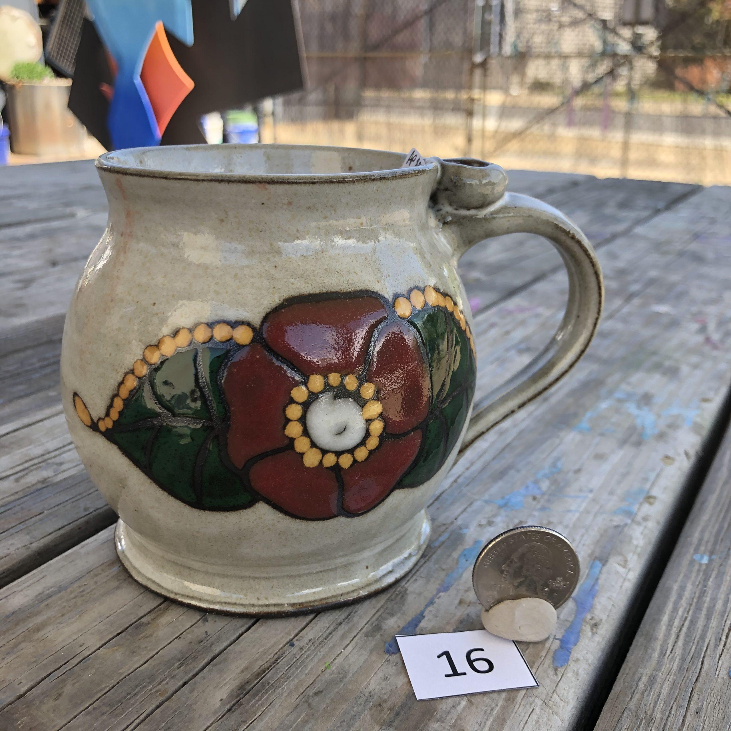 Ann Pfau Flower Mug #16