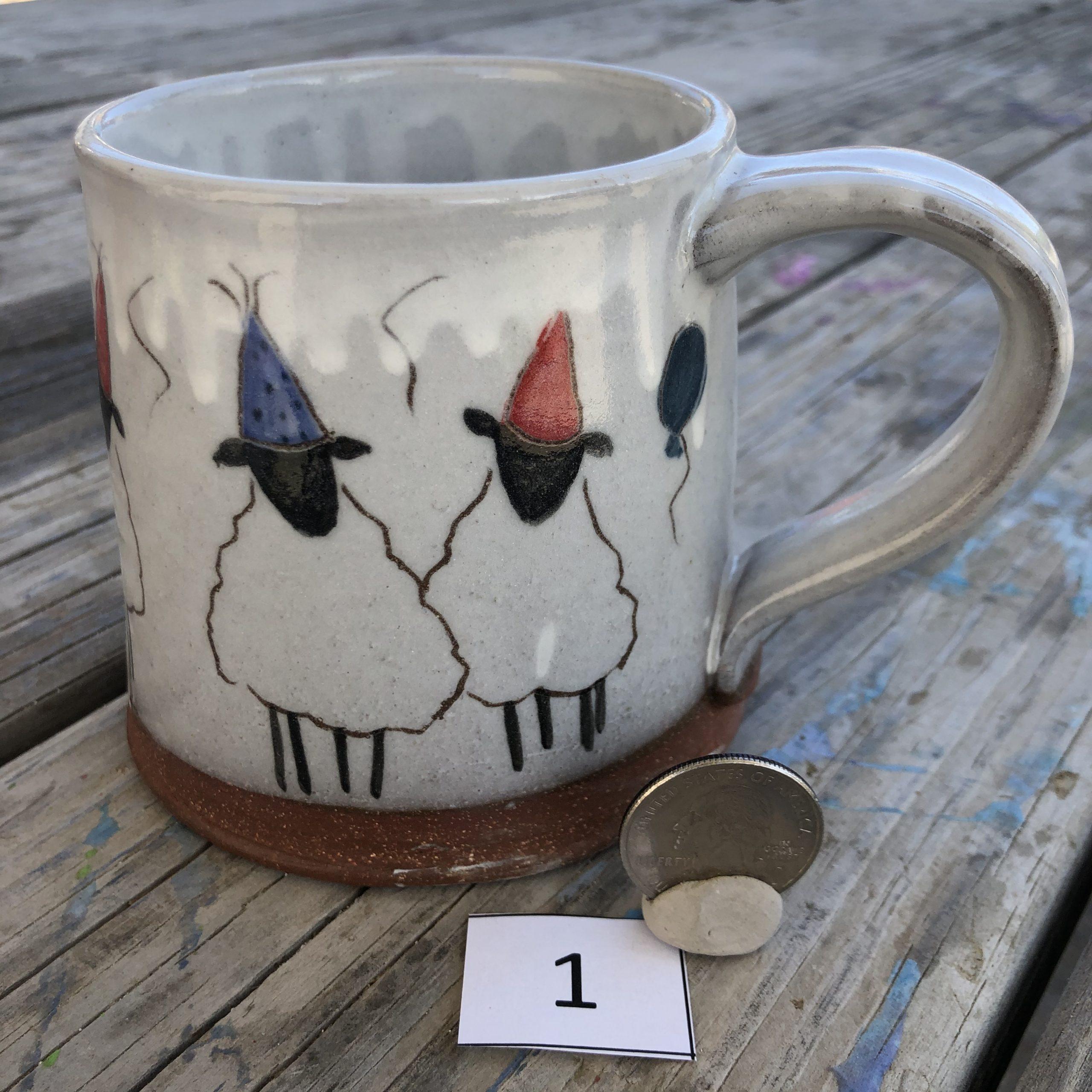 Anna Branner Party Sheep Mug #1