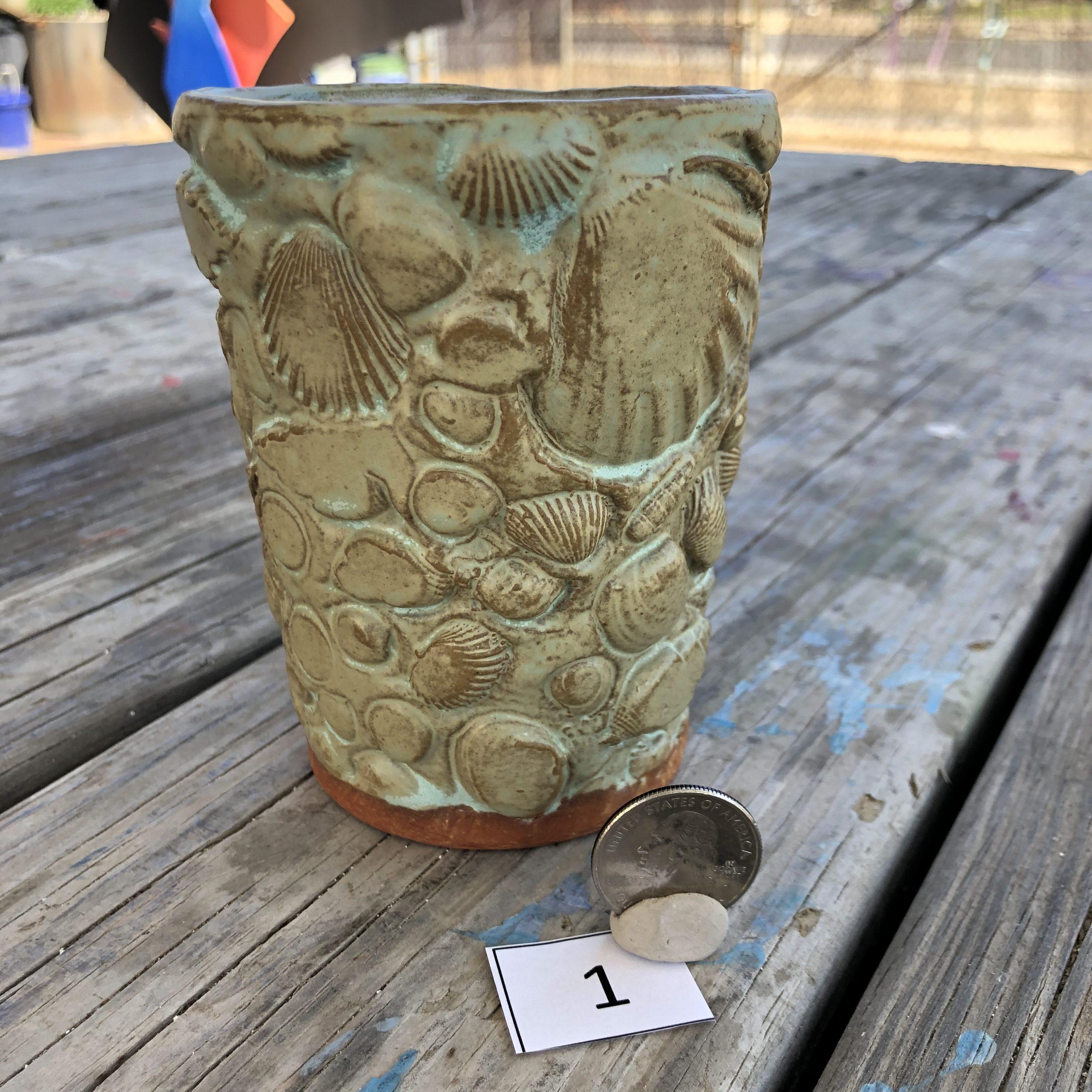 Vicki Wilson Shell Texture Mug #1
