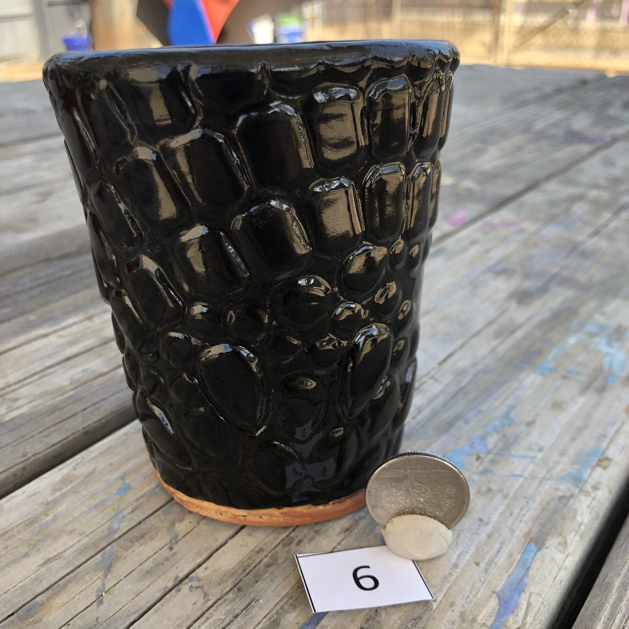 Vicki Wilson Abstract Gems Texture Mug #6
