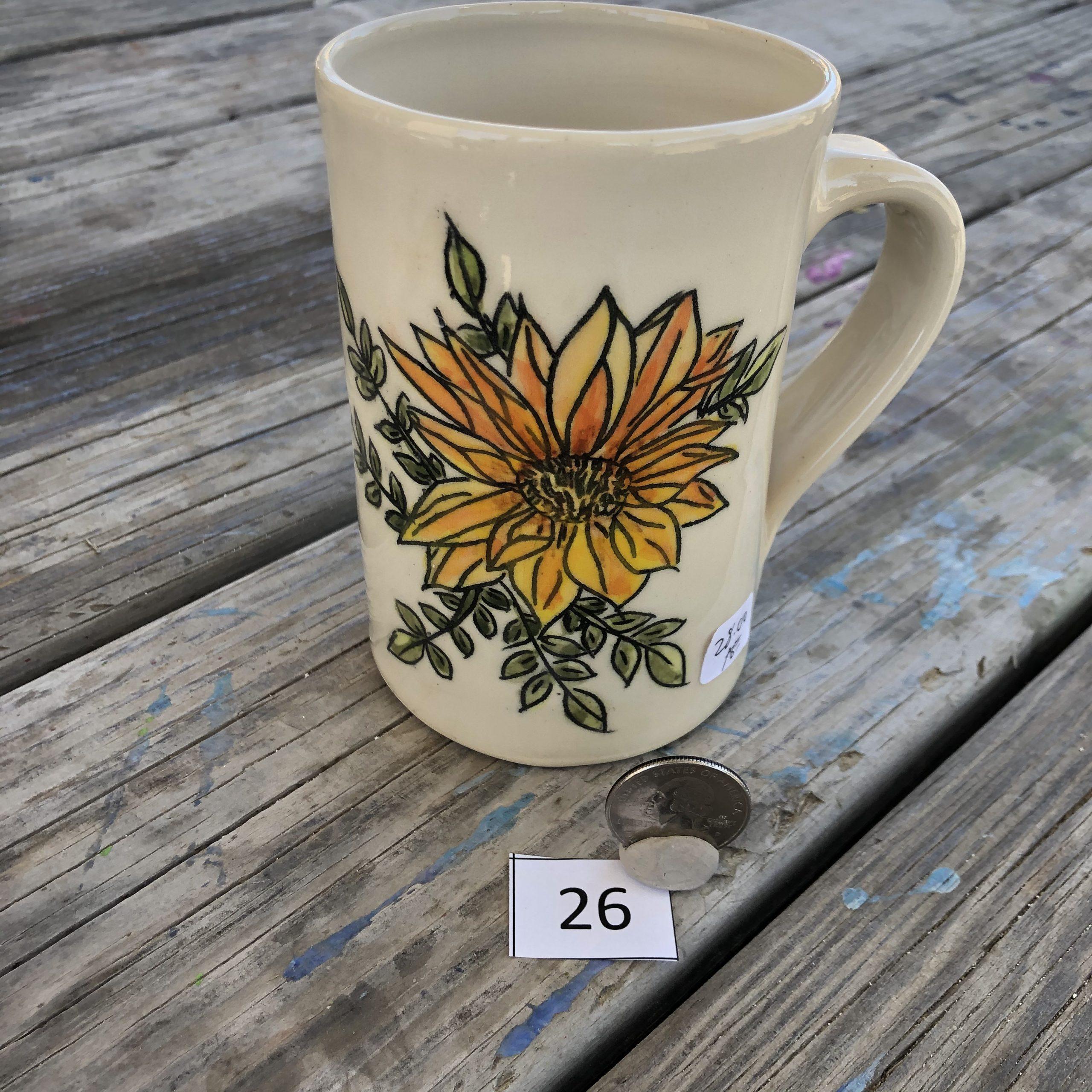 Ana Brugos Flower Mug #26