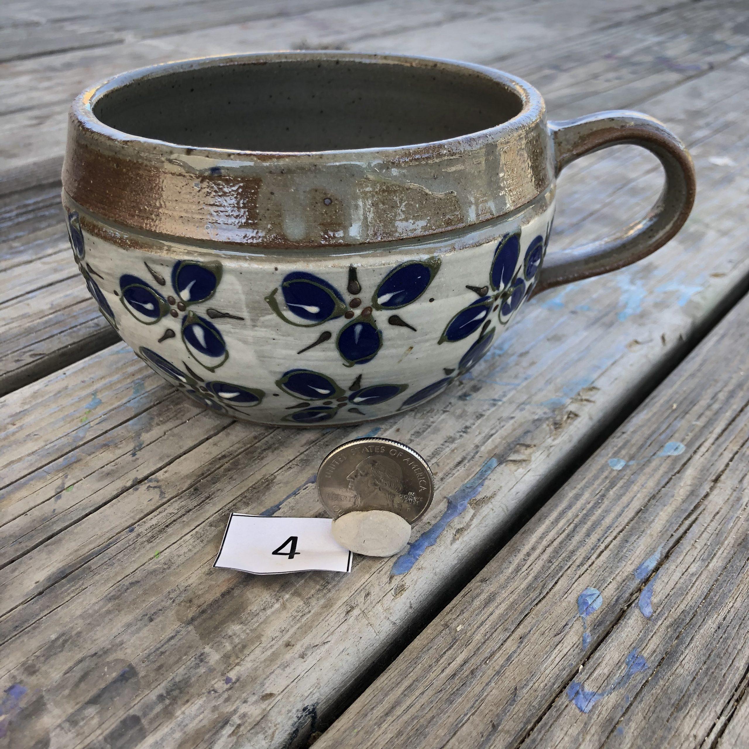 Misha Sanborn Leaf Design Mug #4