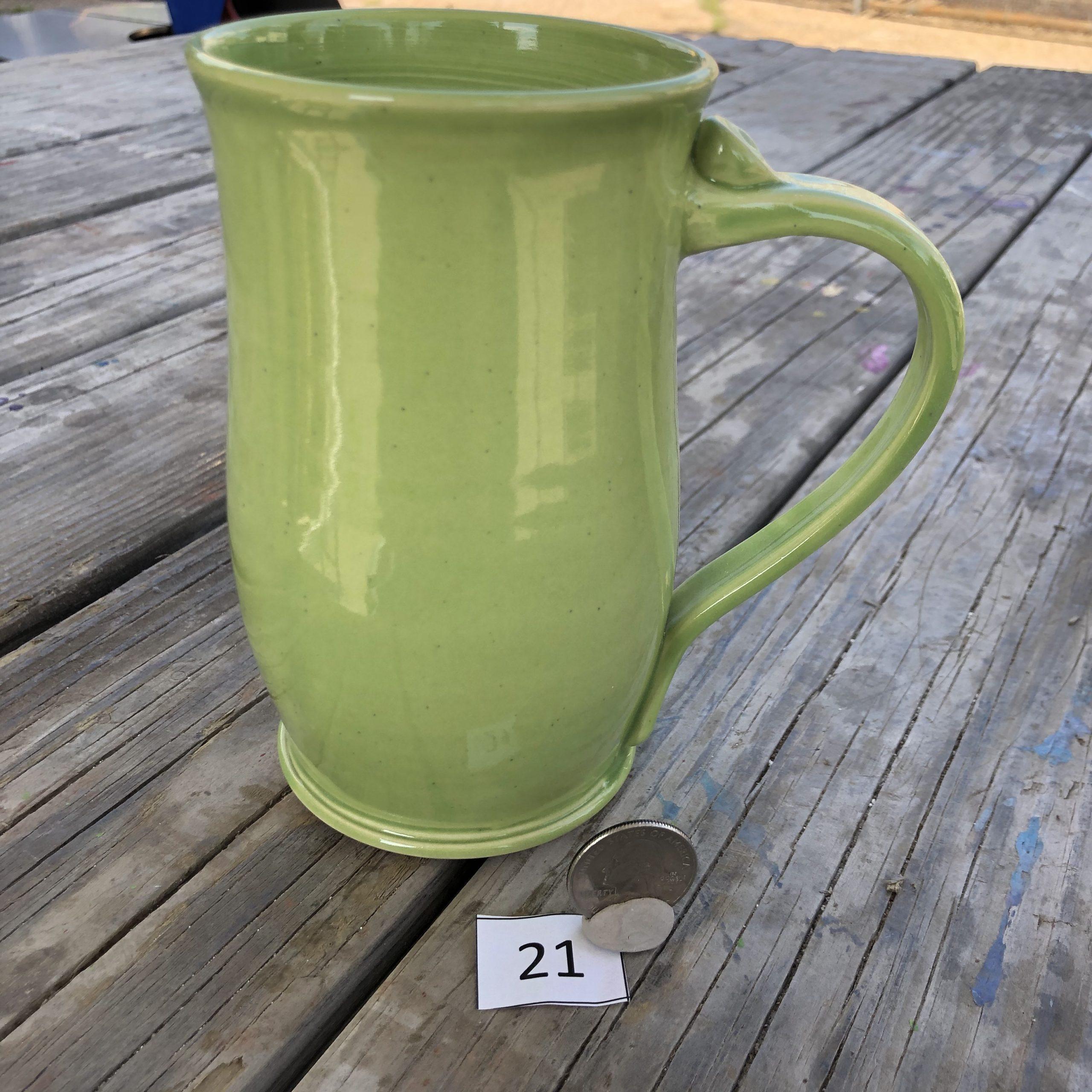 Amy Kovats Lime Mug #21