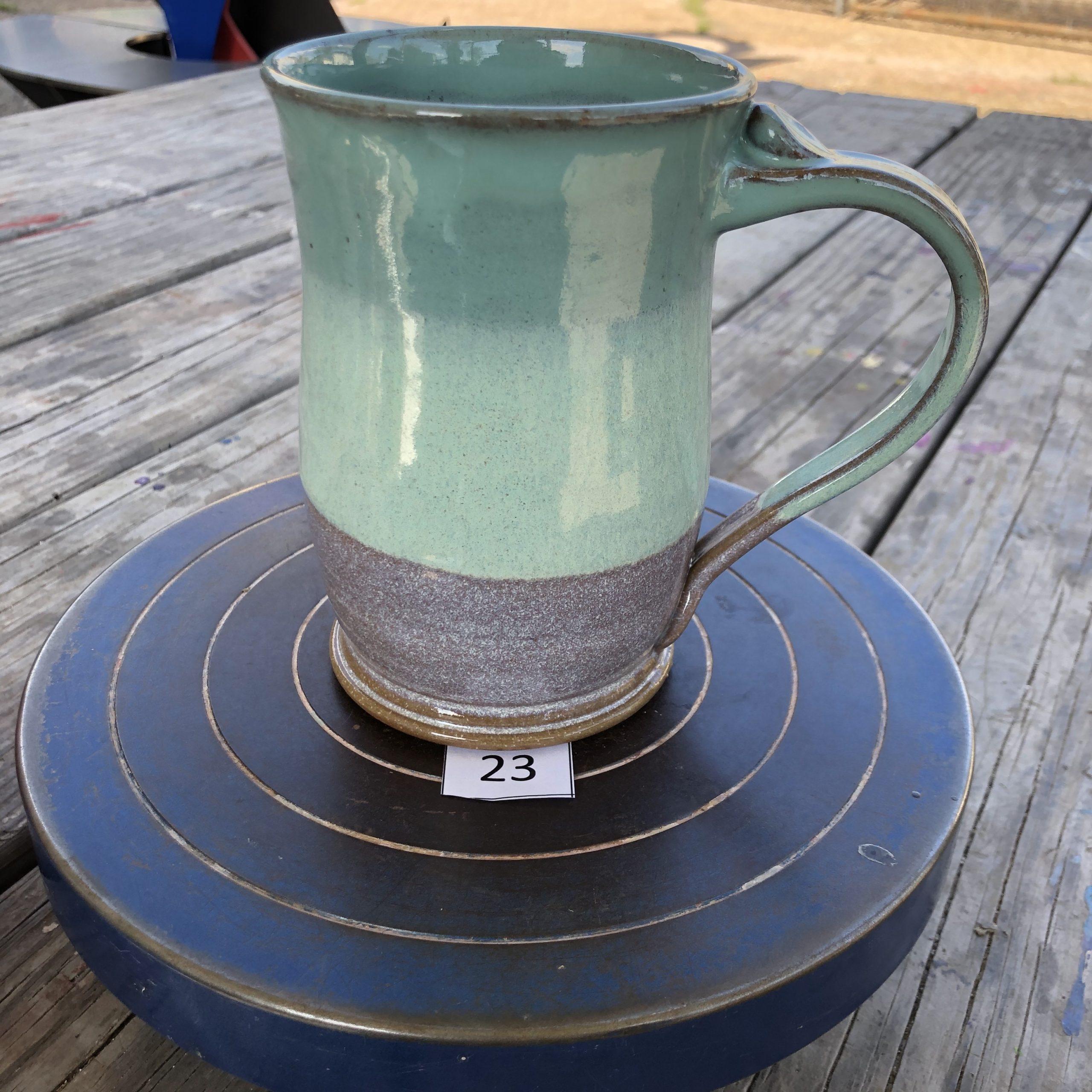 Amy Kovats Spring Jade Mug #23