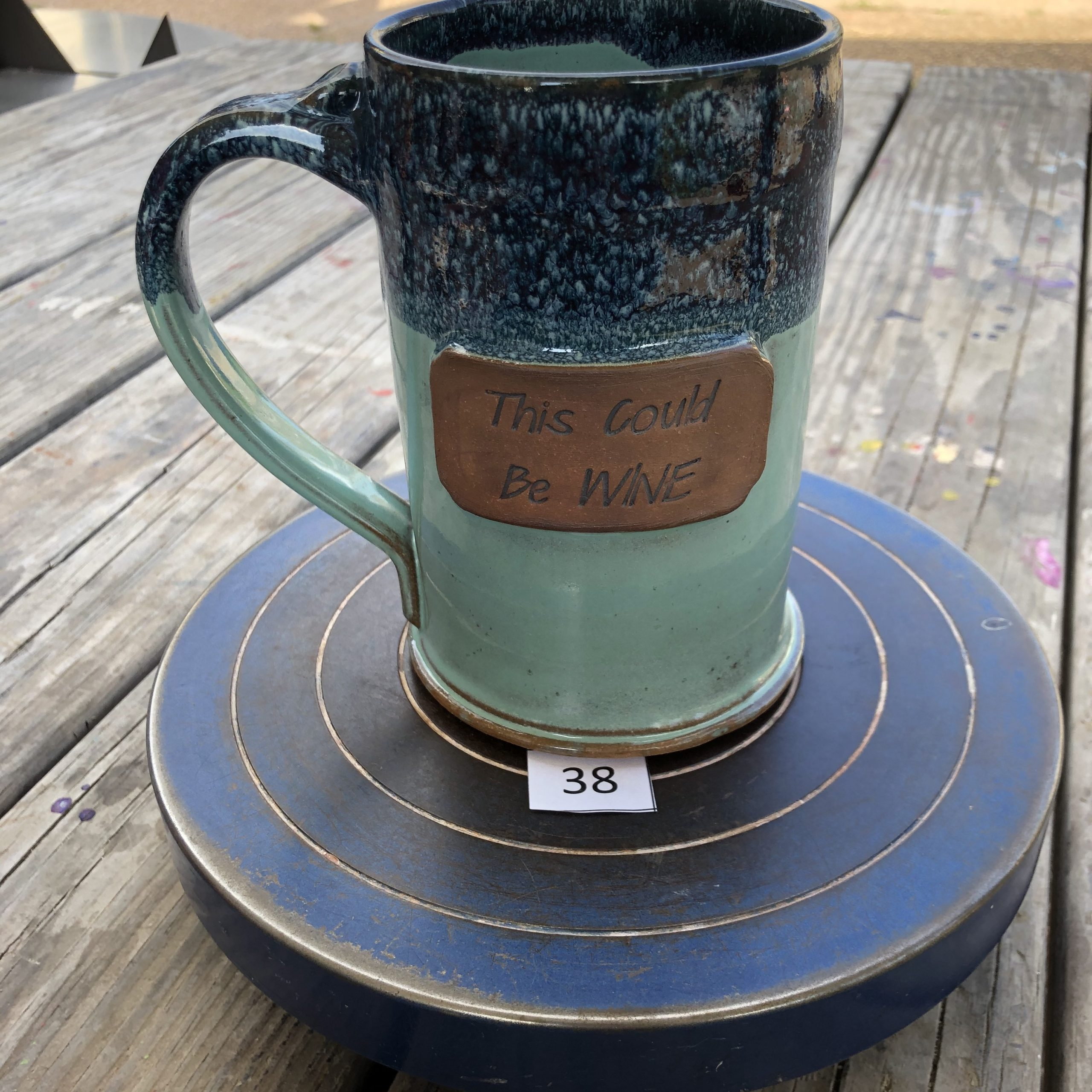 """Amy Kovats Stormy Tide """" This Could be Wine""""  Mug #38"""