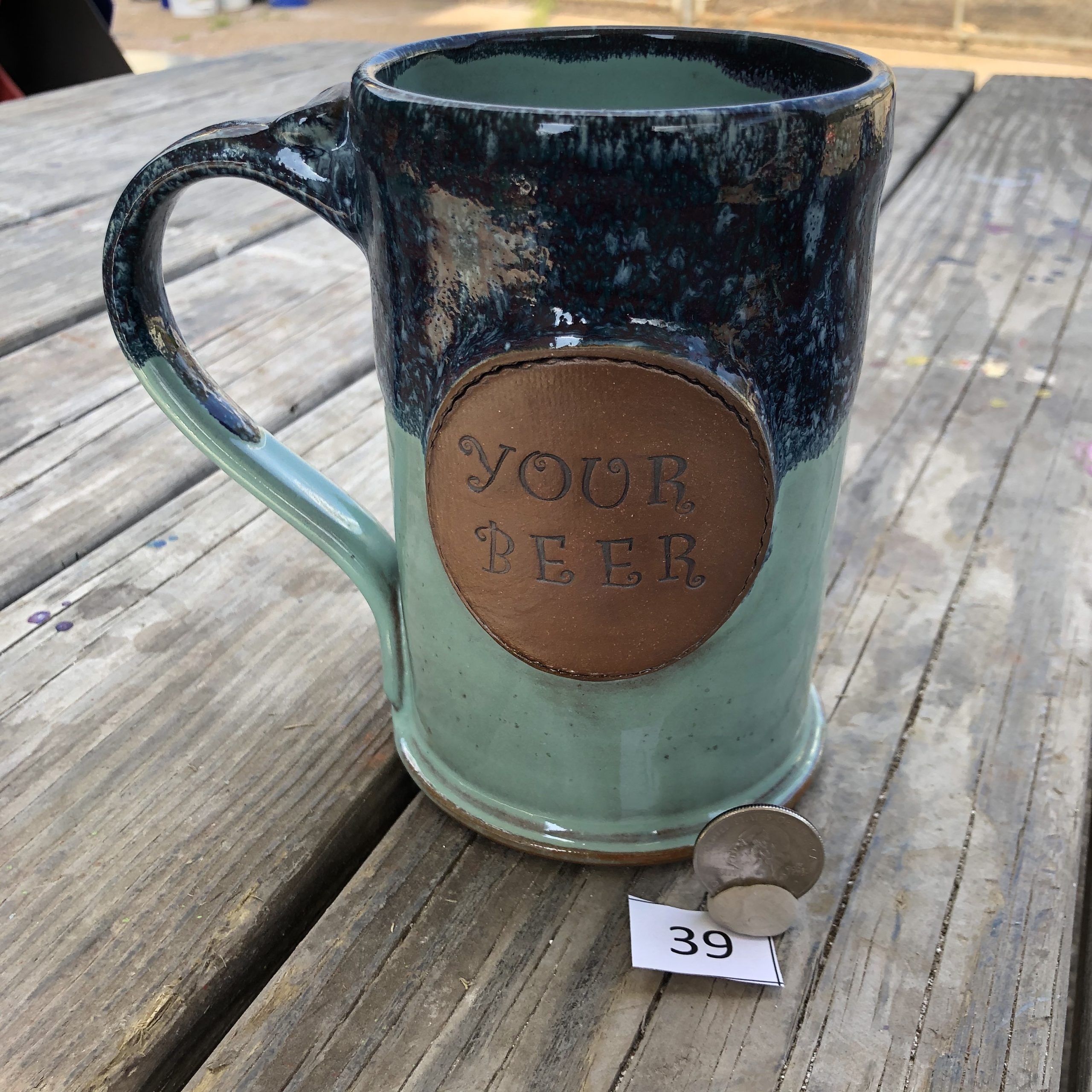 "Amy Kovats Stormy Tide ""Your Beer"" Mug #39"