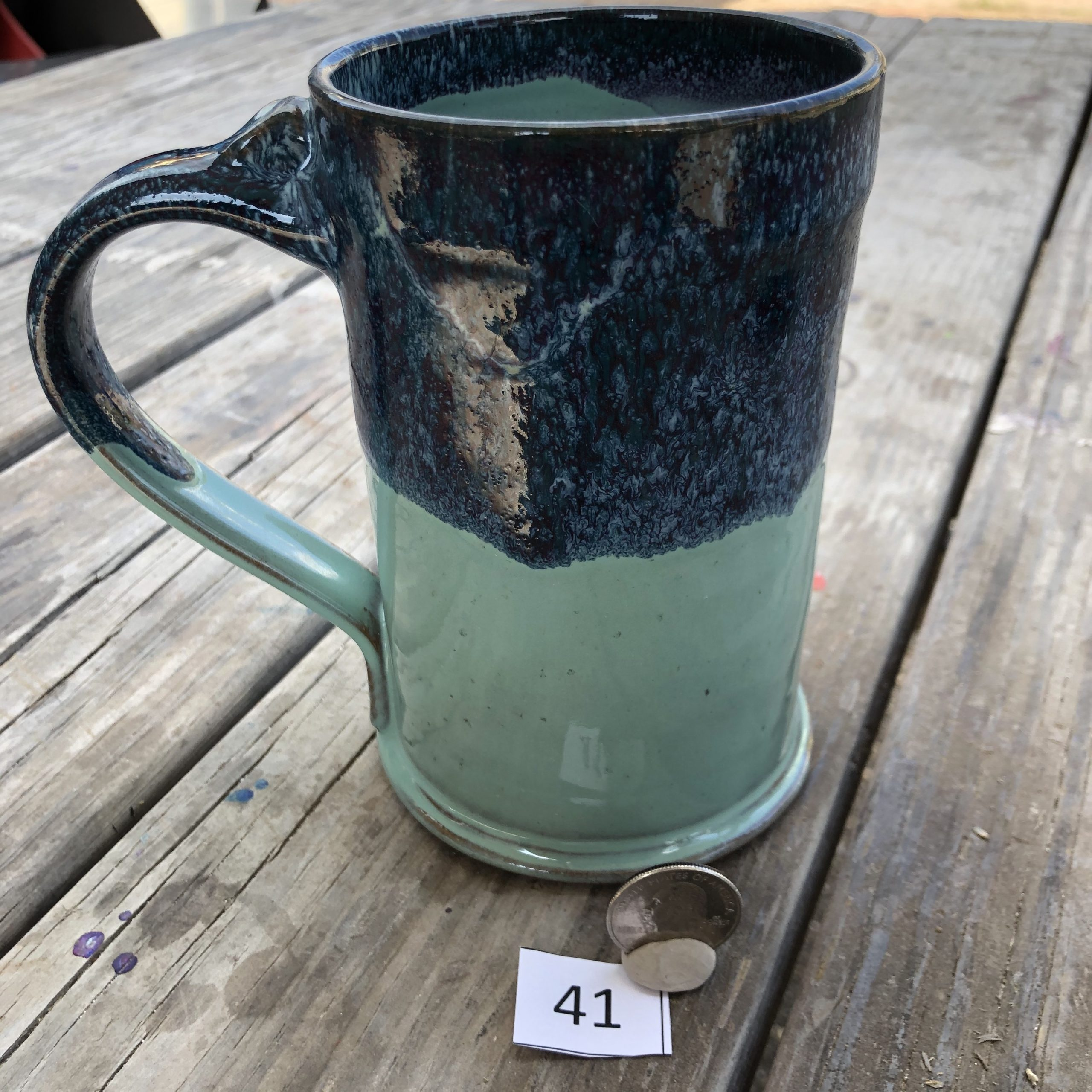 Amy Kovats Stormy Tide Mug #41