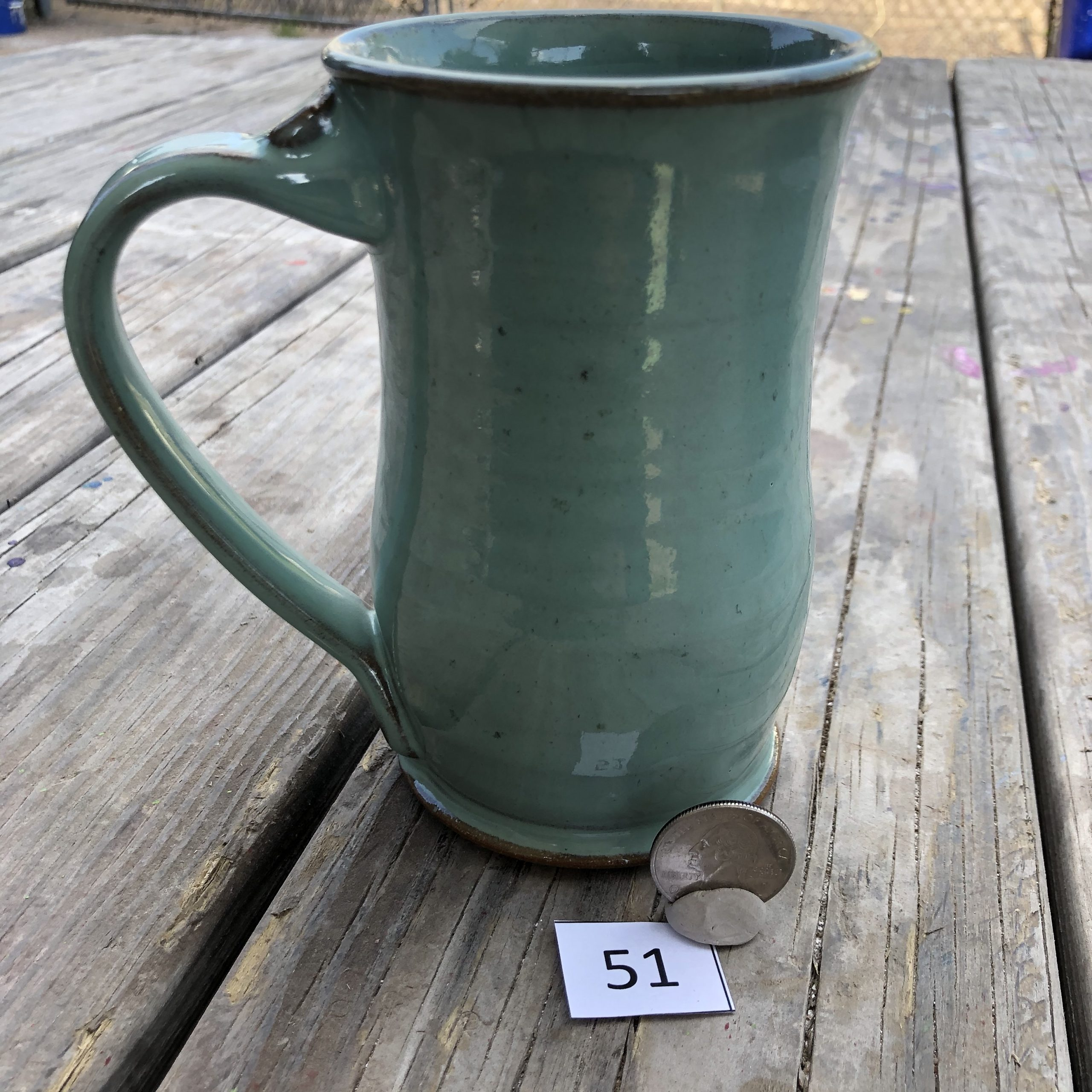 Amy Kovats Jade Mug #51