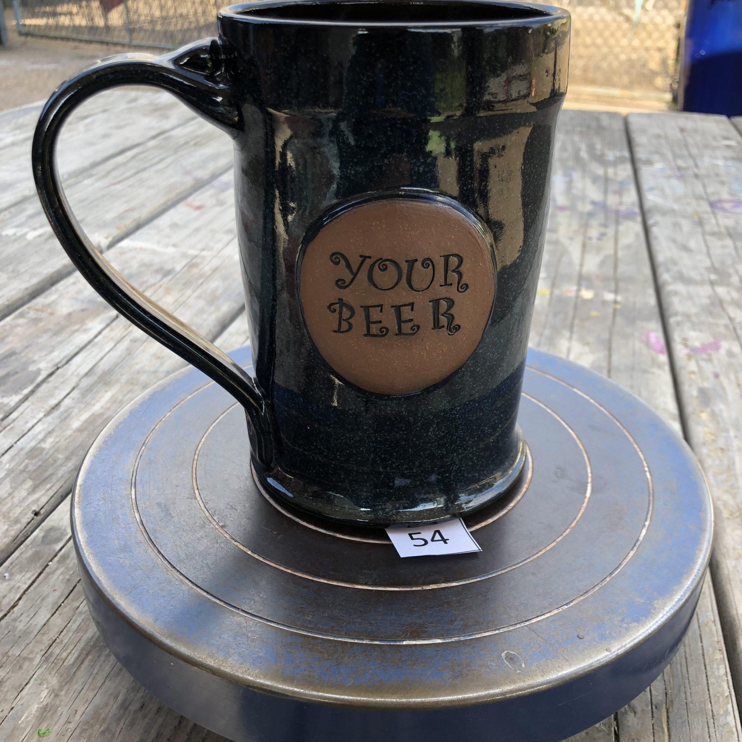 "Amy Kovats Twilight "" Your Beer"" Mug #54"