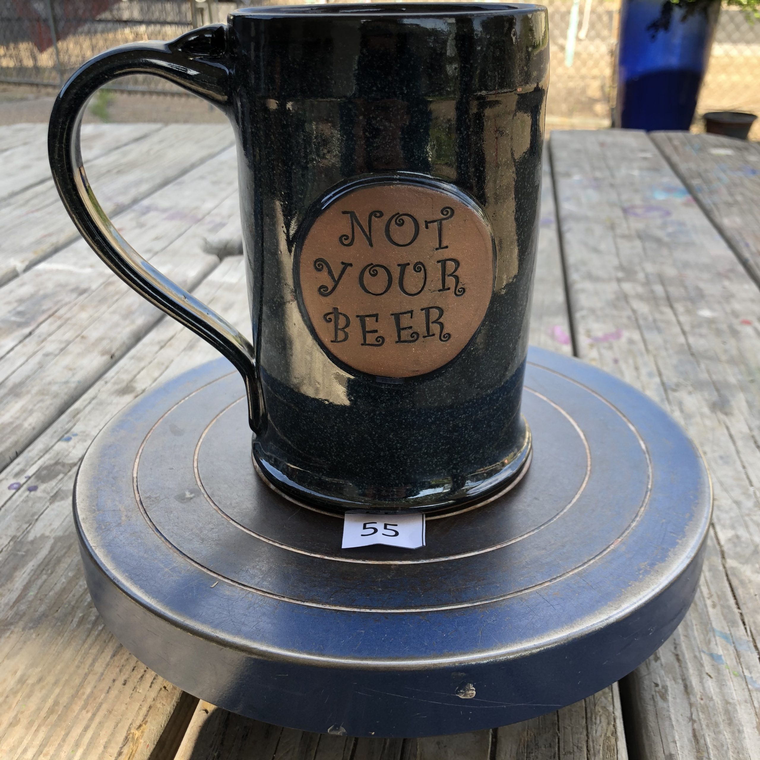 "Amy Kovats Twilight ""Not Your Beer"" Mug #55"