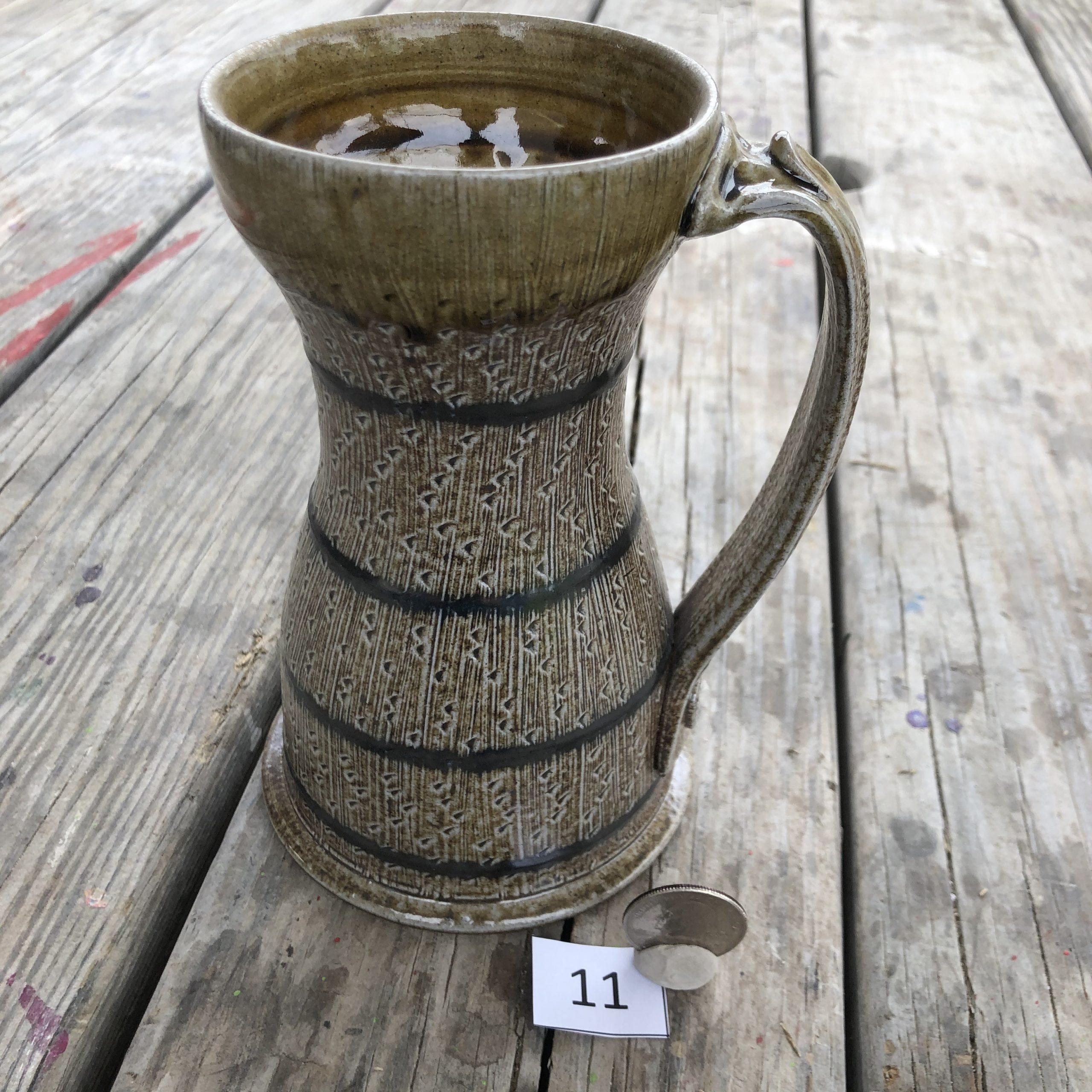 Dan Finnegan Chatter/stripe Mug #11