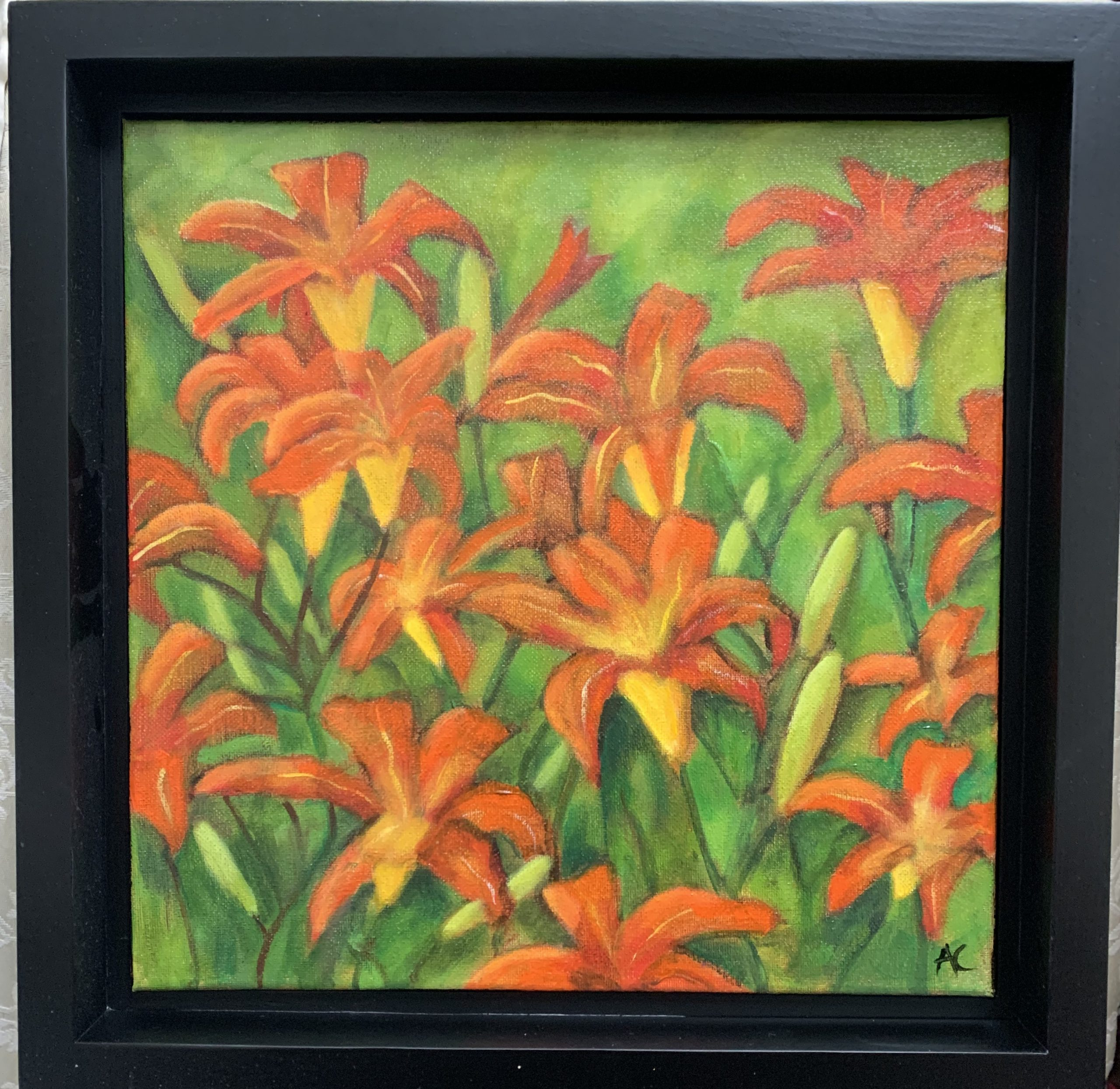 "Amanda Carter ""Day lilies from the Garden"""