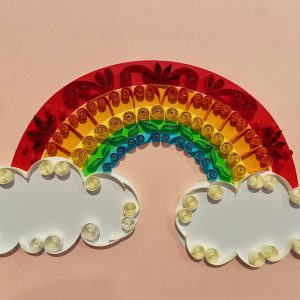 Take And Make Classes: Quilled Bright Rainbow!