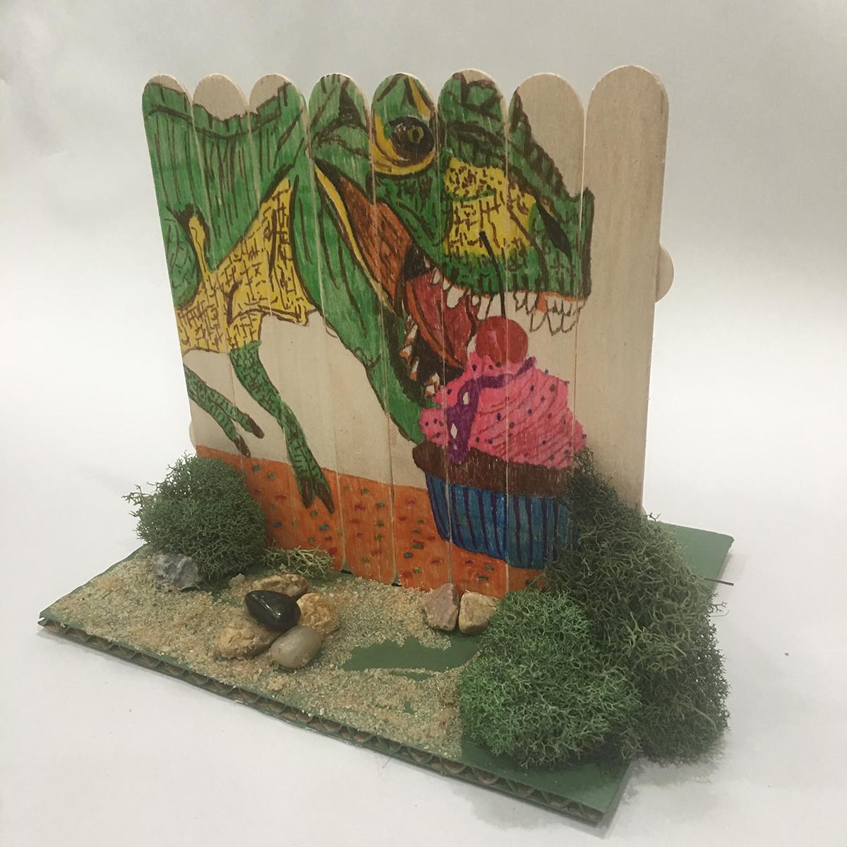 Take and Make Classes: Mini Mural Fence
