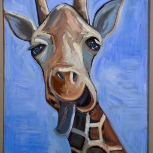 """Giraffe"" By Ed King"